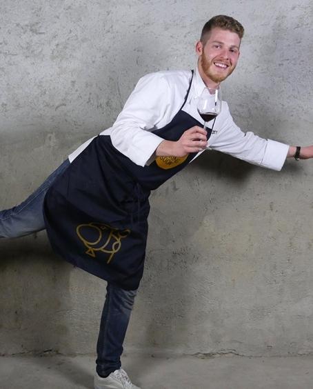 Lo chef calabrese Luca Abbruzzino - Ph. Manuela Laiacona