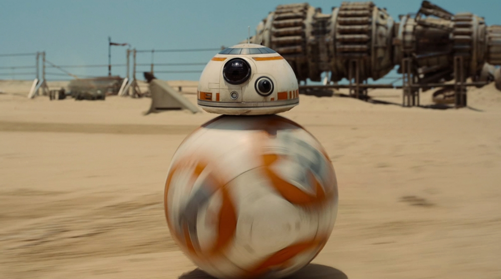 Star Wars VII: il robottino BB-8