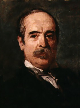 Alfonso Frangipane - Ritratto dello scultore Francesco Jerace, 1915 ca.
