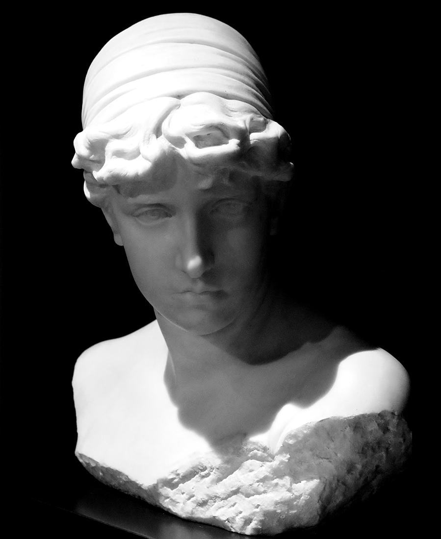 Francesco Jerace - Victa, marmo, 1890, Museo delle Arti (MARCA), Catanzaro - Ph. © Anna Rotundo