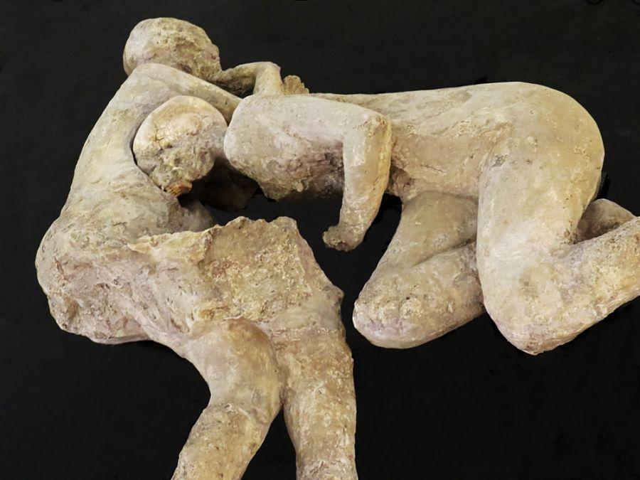 Calco di una coppia di pompeiani - Ph. Gianfranco Vitolo | CCBY2.0