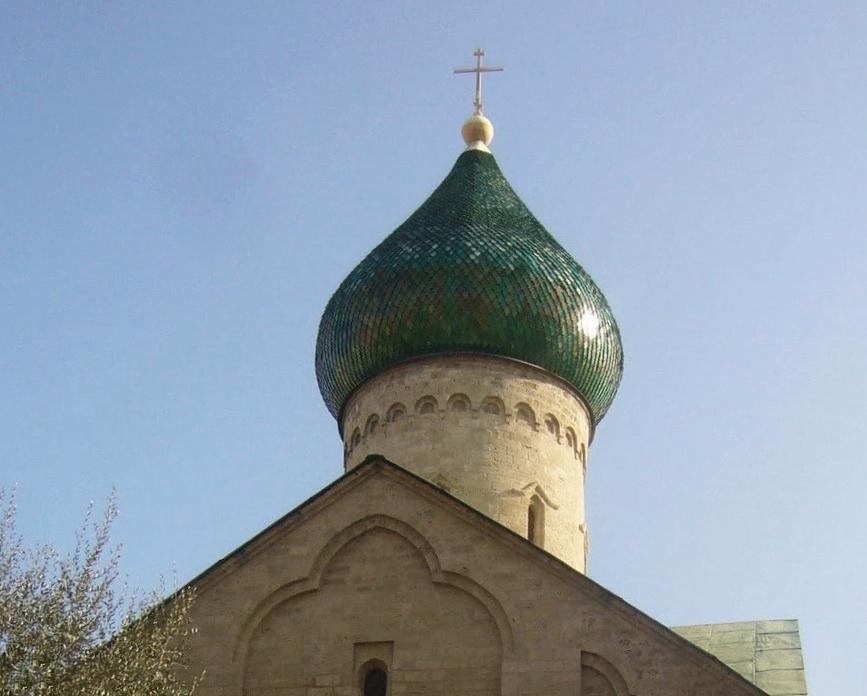 Scorcio della Chiesa Russa di Bari
