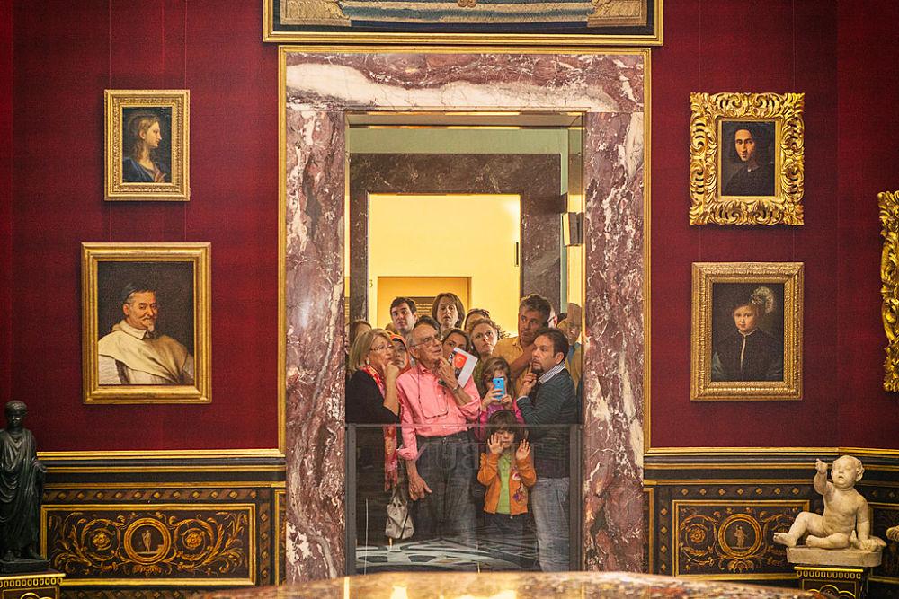 Visitatori alla Galleria degli Uffizi, Firenze - Ph. Thilo Hilberer | CCBY-ND2.0