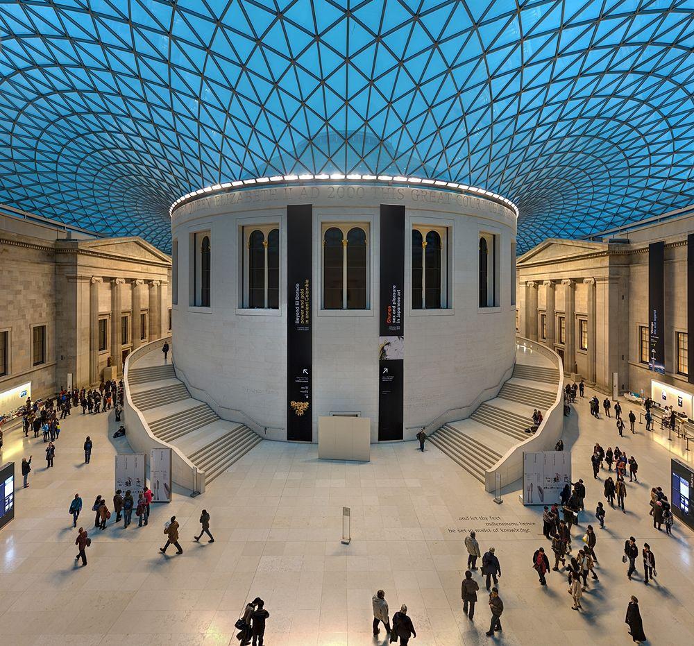 La Great Court del British Museum di Londra - Ph. Diliff | CCBY-SA3.0