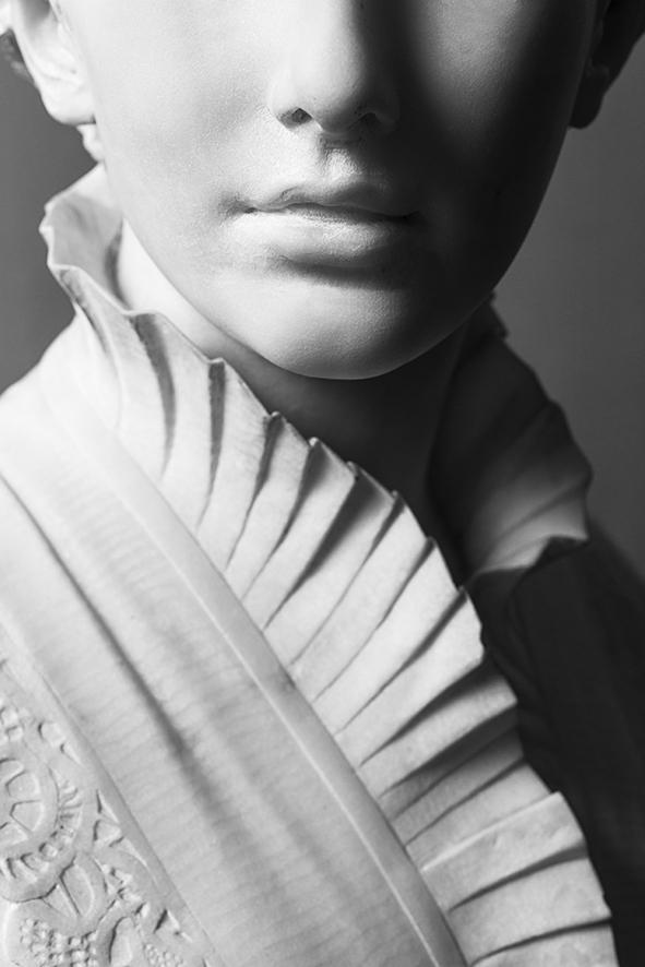 Francesco Jerace, Julie Wemaels, marmo (part.),  Napoli, Museo Civico di Castel Nuovo - Ph. © Silvio Russino