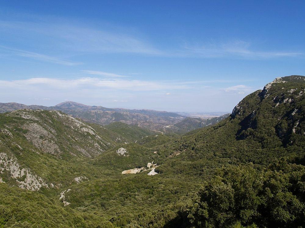 La minieras di Reigraxius, nella valle di Oridda, Domusnovas (Carbonia-Iglesias) - Ph. Graziano U. | CCBY-SA3.0