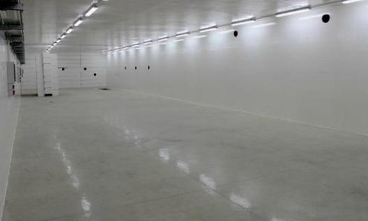 Interno del bunker che ospiterà STAR la sorgente di Raggi X che servirà a indagare la materia - Ph. Unical