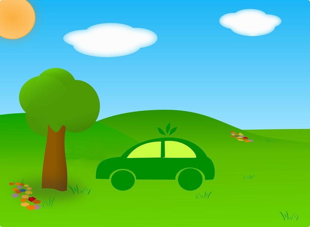Green car, by Nthss220 | Public domain