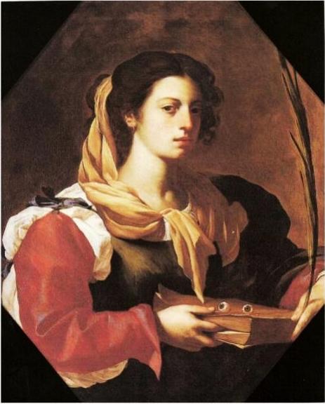 Francesco Guarino, Santa Lucia, olio su tela, XVII sec.