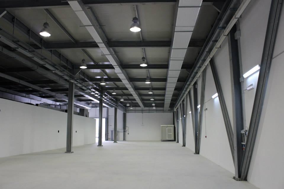 Calabria - Scorcio dell'hangar/bunker seminterrato che ospiterà la sorgente di Raggi X STAR, fulcro del progetto MaTeRiA - Ph. Unical