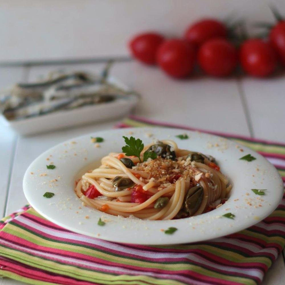 Spaghetti con alici di menaica - Ph. © Anna Laura Mattesini