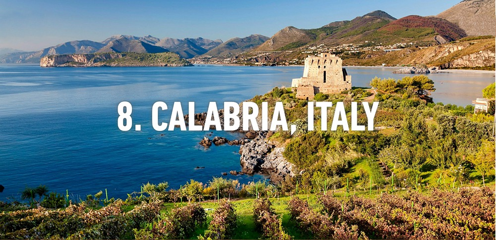L'immagine di S. Nicola Arcella utilizzata da Rough Guides per la segnalazione della Calabria fra le mete imperdibili del 2016