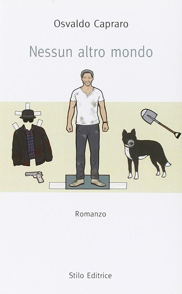 La copertina dell'ultimo libro di Osvaldo Capraro