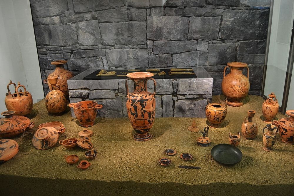 Antiquarium di Roccagloriosa (Salerno) - Ph. © Michele Natale
