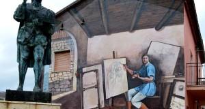 Aspettando il Carnevale tra i murales di Satriano di Lucania