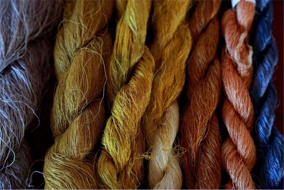 Trecce di seta grezza - Ph. Cooperativa Nido di Seta | Photo gallery a fondo pagina