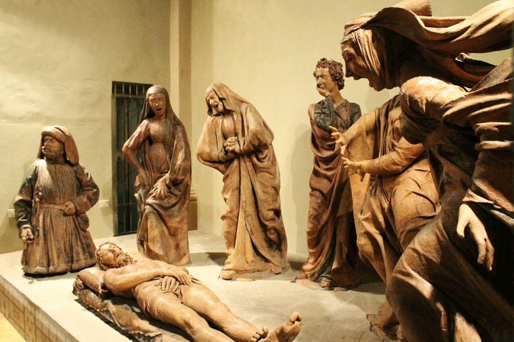 Compianto sul Cristo Morto, di Niccolò dell'Arca, 1463-90, Bologna, Chiesa di S. Maria della Vita