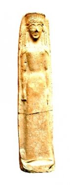 Statuetta raffigurante la dea Atena, VII sec. a.C., da Timpone della Motta, Museo della Sibaritide - Ph. Museum Francavilla