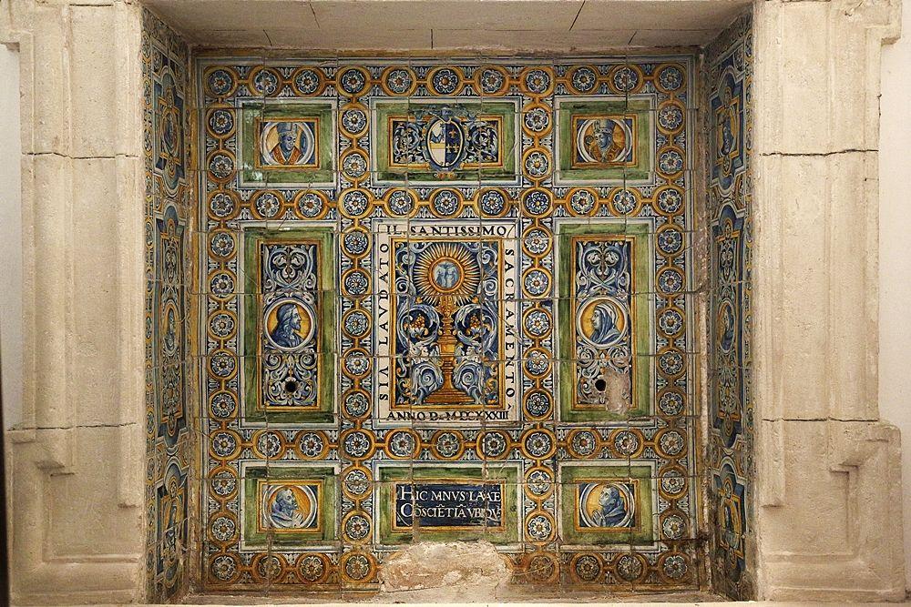 Lavabo di San Rocco, Chiesa di S. Rocco, Matera – Ph. © Angela Capurso