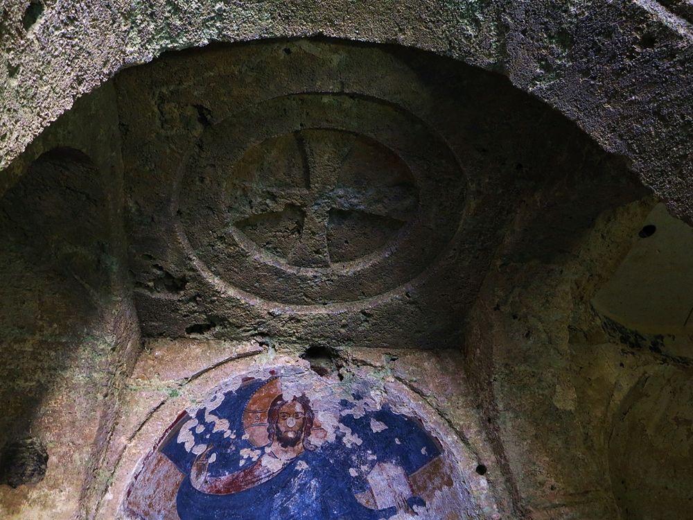Il Cristo Pantocratore nella Chiesa di S. Gregorio, Mottola (Ta) - Ph. Passaturi