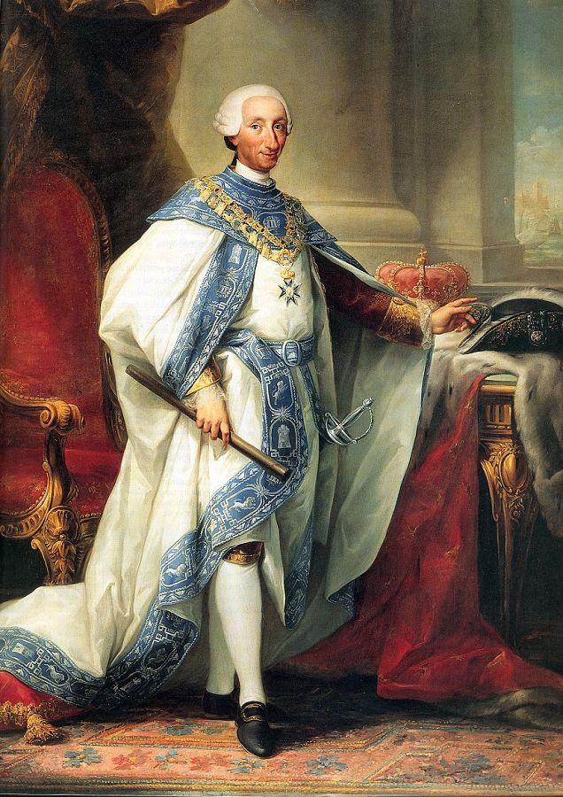 Il re Carlo III di Borbone, XVIII sec. - Palazzo Reale, Madrid