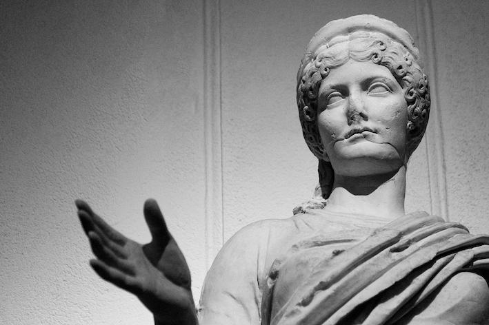 Statua di Agrippina, I° sec. d.C. - Ph. Iole Carollo