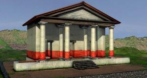 Teatro-Tempio di Pietravairano: video ed elaborazione in 3D