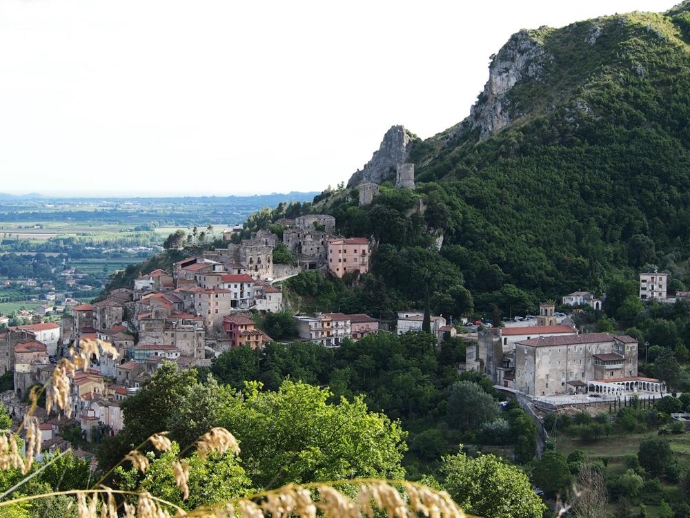 Campania - Veduta di Pietravairano (Caserta)