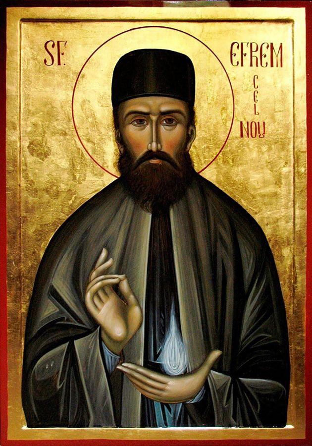Icona raffigurante il santo siriano Efrem