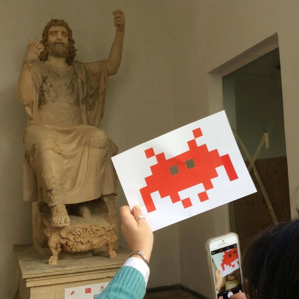 Invasioni Digitali al Museo Archeologico Salinas, Palermo