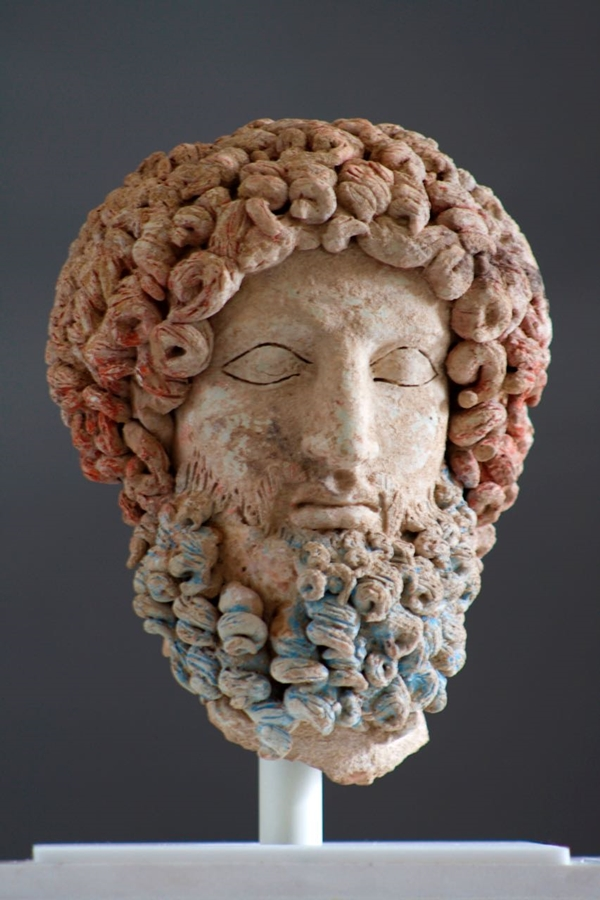 La Testa di Ade da Morgantina (Enna), V-IV sec. a.C. – Ph. Giuseppe Mineo