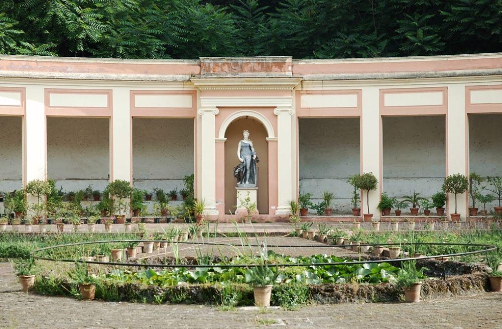 Campania - Scorcio dell'Aperia del Vanvitelli, Parco della Reggia di Caserta