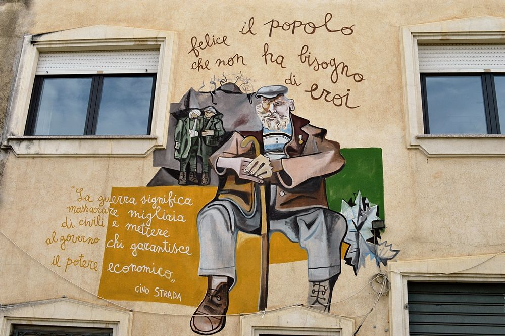 Sardegna - Murale ad Orgosolo (Nuoro) - Ph. © Angela Capurso