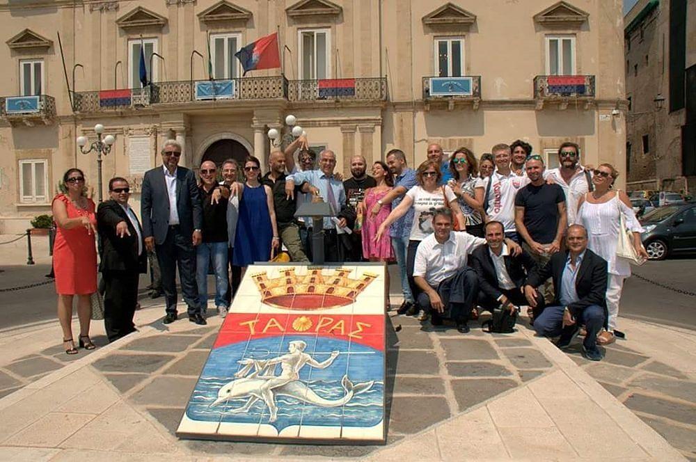 Delegazione spartana a Taranto in occasione del gemellaggio fra Taranto e Sparta - Ph. Max Perrini