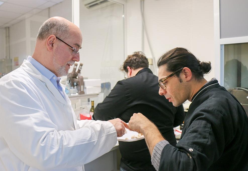 Biologi e chef elaborano le quintessenze