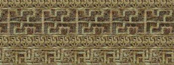 Ricostruzione virtuale del tessuto ricamato ritrovato a Herdonia - Fonte: Mibact