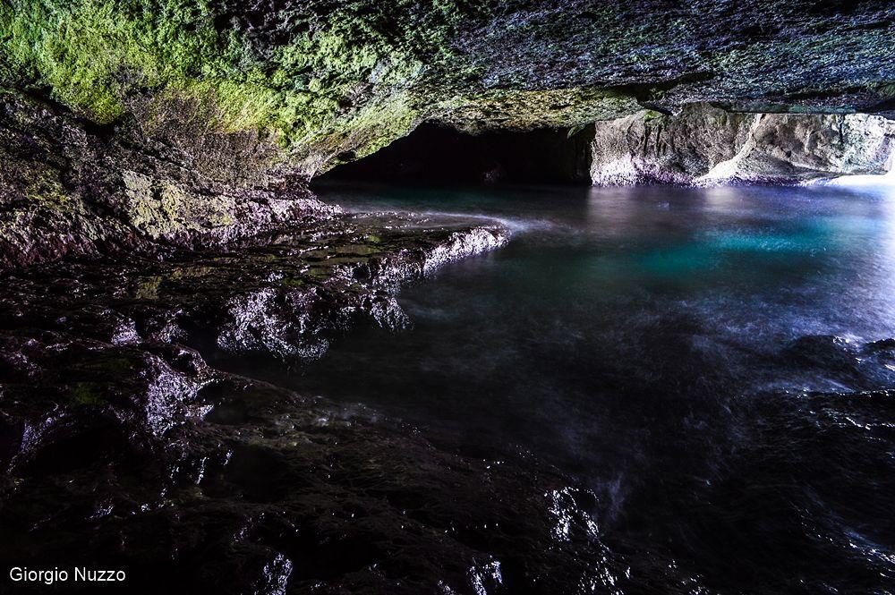 Puglia - Antro di accesso alla Grotta Verde - Ph. © Giorgio Nuzzo