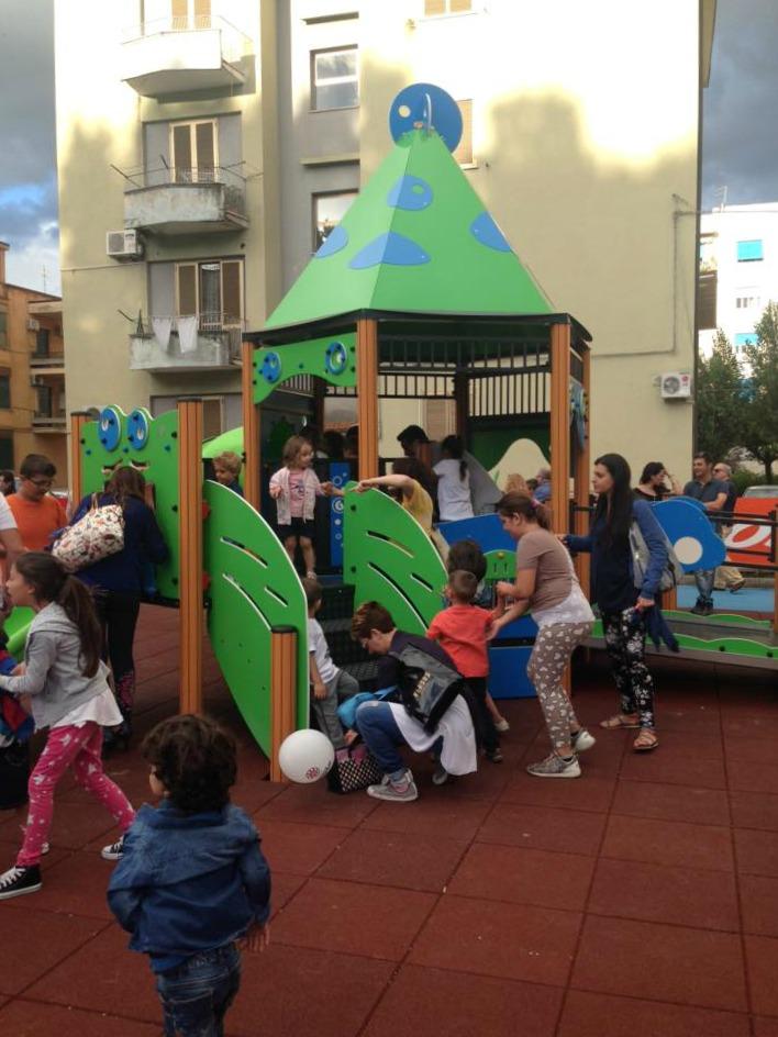"""Bambini nel Parco """"Piero Romeo"""", Cosenza"""
