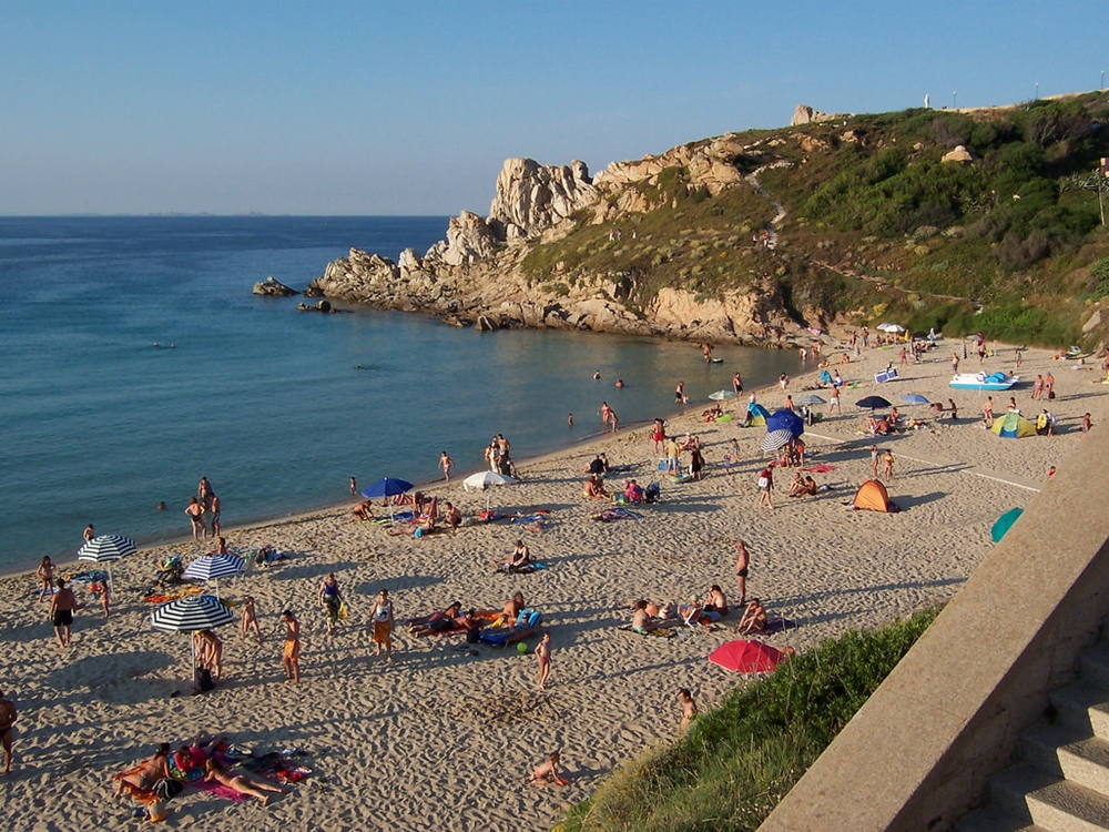 Sardegna - Spiaggia di Rena Bianca, Santa Teresa di Gallura (Ot) - Ph. Legambiente