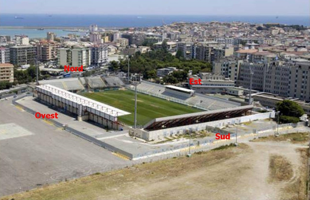 "6. Stadio comunale ""Ezio Scida"", Crotone"