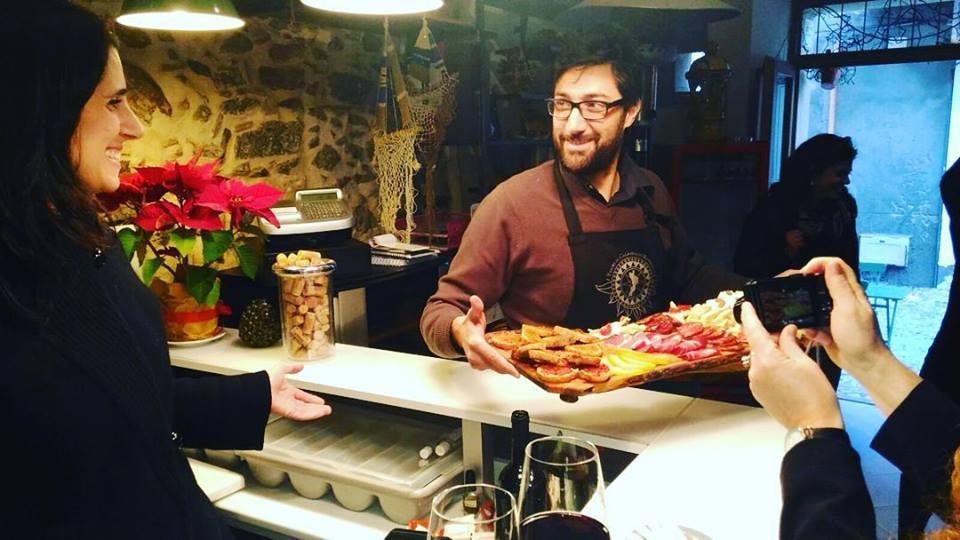 Gastronomia tipica al B&B Casa Vela di Chianalea, Scilla (Reggio Calabria)