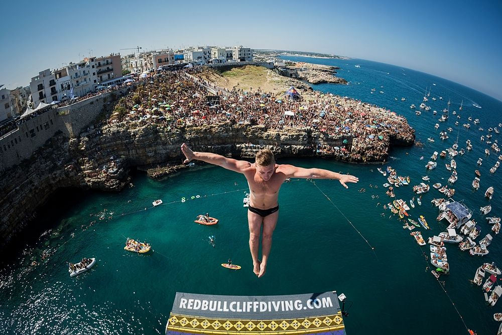 Red Bull Cliff Diving World Series, Polignano a Mare (Ba)