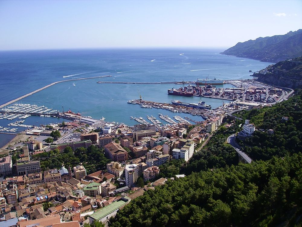 Veduta di Salerno - Image source