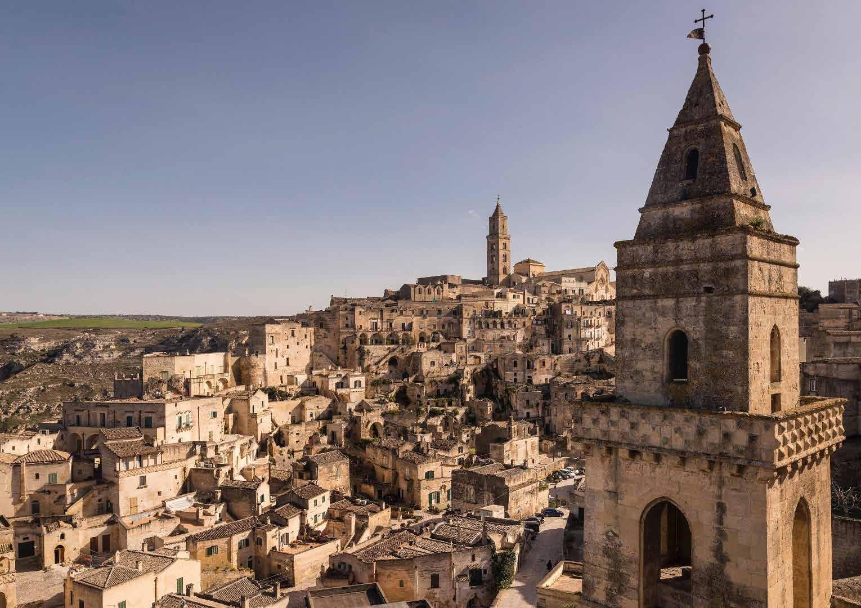 Veduta panoramica di Matera