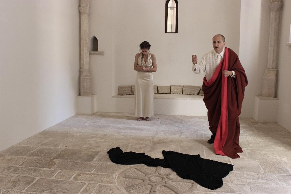"""Foto di scena de """"Il Teatro del Viaggio"""""""