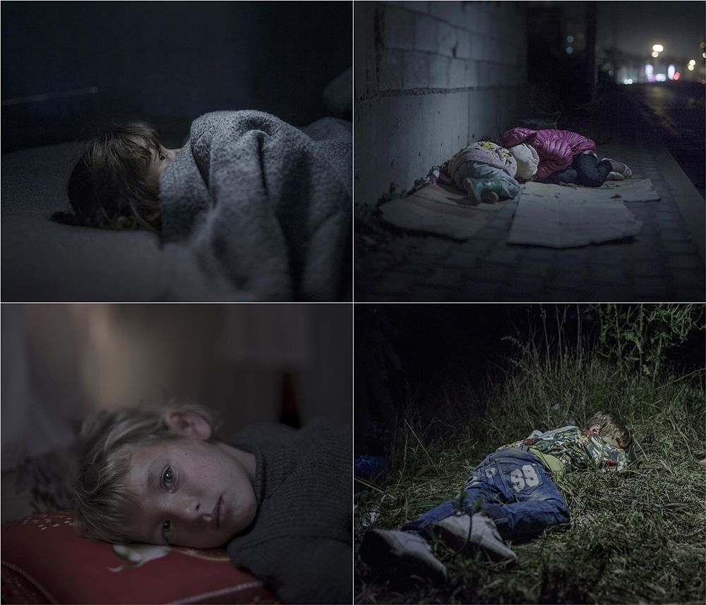 Where the Children Sleep - Ph. © Magnus Wennman (Svezia)