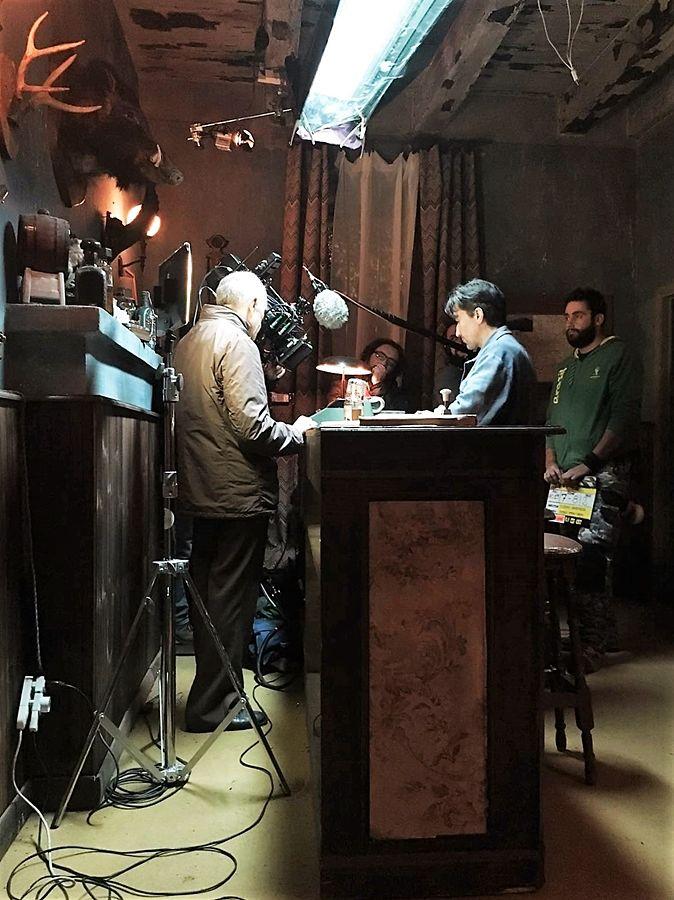 The Millionairs: un momento della lavorazione - Ph. Lucania Film Commission