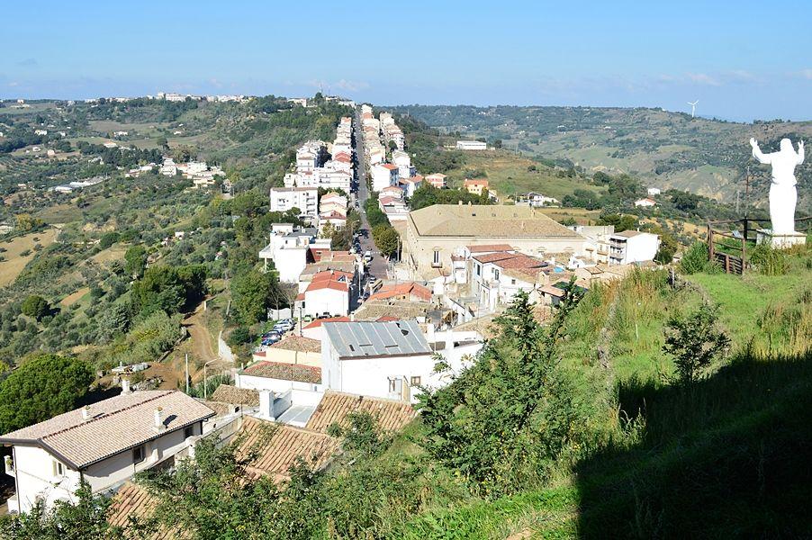 Scorcio panoramico di Pomarico (Matera) - Ph. © Angela Capurso