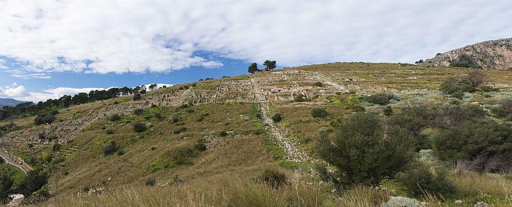 Veduta panoramica del sito archeologico di Solunto - Ph. Davide Mauro