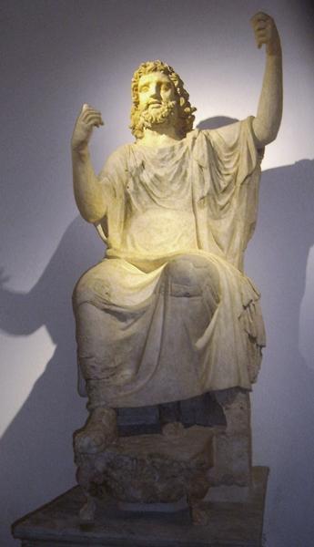 "Zeus di Solunto, II° sec. a.C., Museo Archeologico ""Salinas"", Palermo - Ph. Udimu"